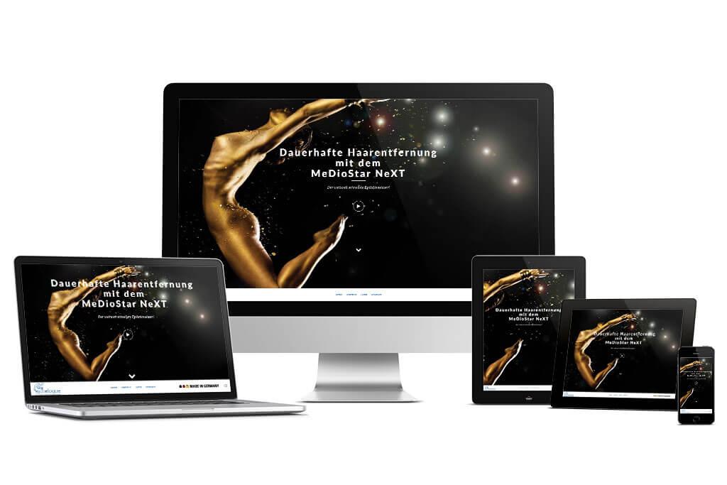 Asclepion: MeDioStar NeXT