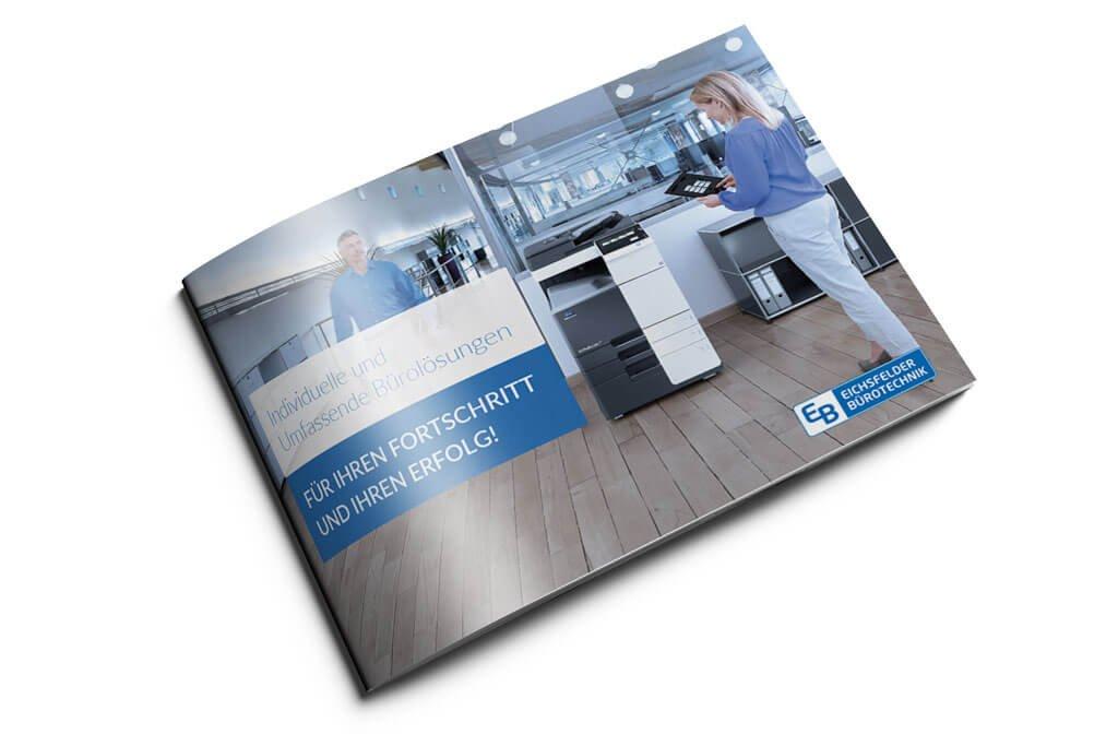 Broschüre/ Katalog für Eichsfelder Bürotechnik