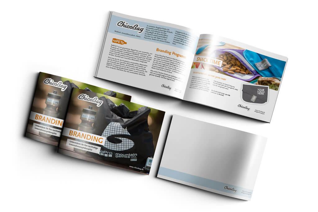 Broschüre/ Katalog für ChicoBag