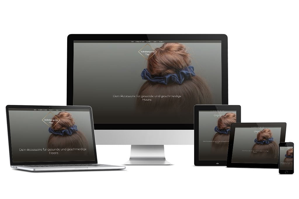 Seidenhaargummi: Webdesign Eichsfeld